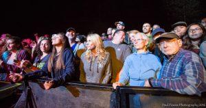 Fans at Bluesapalooza