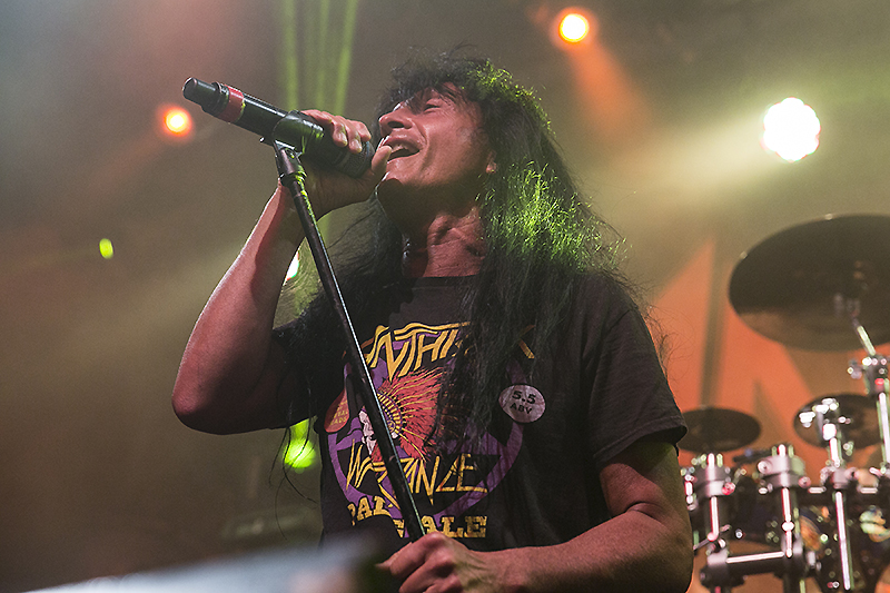Joey Belladonna of Anthrax