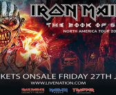 Iron Maiden at Oracle Arena on July 5, 2017