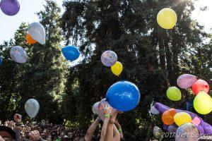 Balloons, photo Jeff Spirer