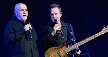 Peter Gabriel and Sting