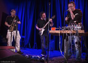 John Zorn, Trey Spruance, and Mike Patton