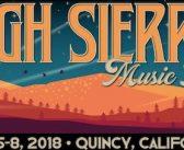 High Sierra Music Festival July 5 – July 8, 2018