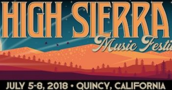 High Sierra Music Festival July 5 – July 8, 2018