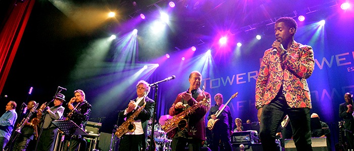 Tower of Power Towers Over The Fox