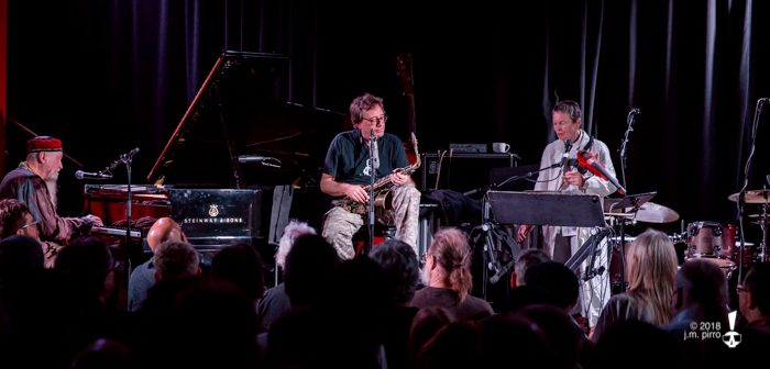 Zorn, Anderson, and Riley Travel Musical Worlds Beyond at The Chapel