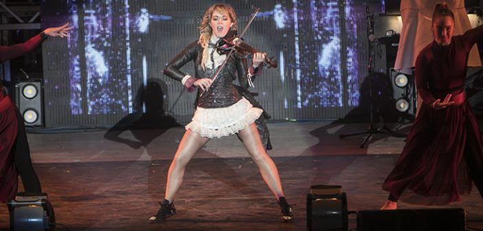 Evanescence and Lindsey Stirling Light Up Mountain View at Shoreline