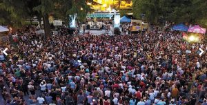 Concerts in the Park, Sac