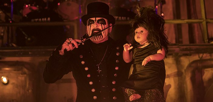 The Warfield Witnesses the Resuscitation of King Diamond